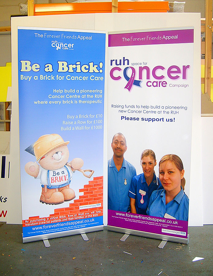 EBS4 Pull-up banners