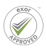 Exor Approved Contractor Logo - Link to website